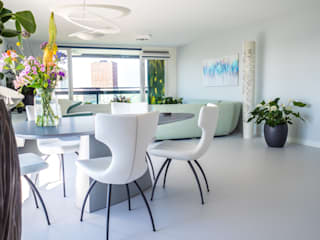 Modern dining room by Motion Gietvloeren Modern