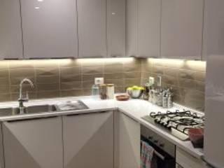 house - CNT: Cucina attrezzata in stile  di DUOLAB Progettazione e sviluppo