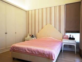 台北華城:  臥室 by G.T. DESIGN 大楨室內裝修有限公司