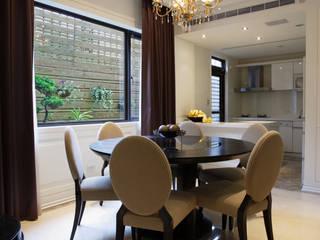 台北華城 Moderne Esszimmer von G.T. DESIGN 大楨室內裝修有限公司 Modern
