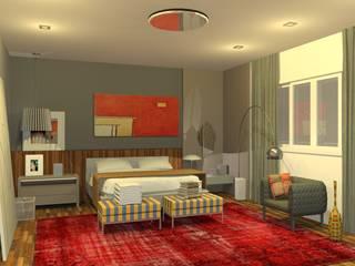 Suite do casal Quartos modernos por PRB ARQUITETURA Moderno