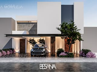 Rumah oleh Besana Studio, Minimalis