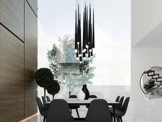 Ruang Makan oleh Besana Studio, Minimalis