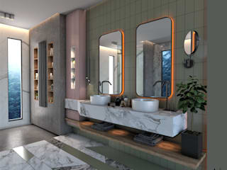 House of Sweden / / Bathroom Modern Banyo Murat Aksel Architecture Modern