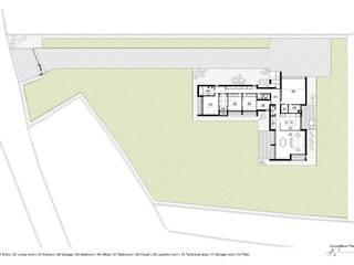 Maisons minimalistes par Raulino Silva Arquitecto Unip. Lda Minimaliste