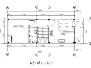 Bungalows by Công ty Thiết Kế Xây Dựng Song Phát, Asian