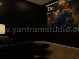 The Glory of Game Room Design by Yantram architectural studio Amsterdam Yantram Architectural Design Studio Klasik
