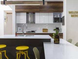 cocina casa laureles Cocinas modernas: Ideas, imágenes y decoración de Adrede Diseño Moderno Granito
