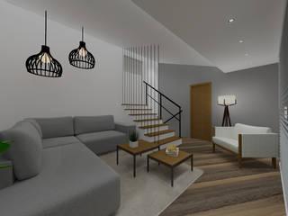 Cláudia Legonde Living room Wood White