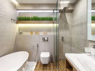 Baños de estilo minimalista de Planka Minimalista