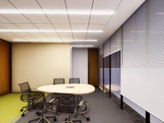 OFICINAS CORPORATIVAS FINCOMUN: Estudios y oficinas de estilo  por FORMprojects,