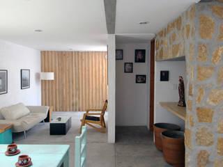 Living room by Apaloosa Estudio de Arquitectura y Diseño, Industrial
