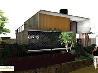 CASA MANACÁ DA SERRA Casas modernas por PRB ARQUITETURA Moderno