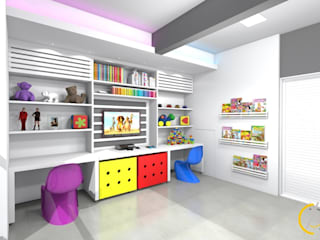 Kamar Bayi/Anak Modern Oleh Arquiteta Carol Algodoal Arquitetura e Interiores Modern