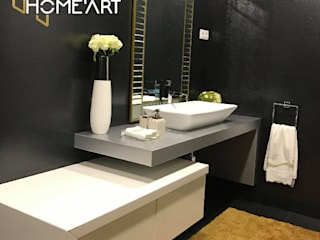 WC: Casas de banho modernas por Home'Art