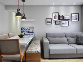 Condecorar Arquitetura e Interiores ห้องทานข้าว