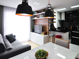 Condecorar Arquitetura e Interiores Salones de estilo moderno