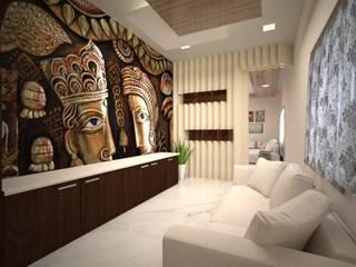 Living Area Design Modern living room by Vinra Interiors Modern