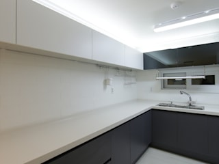 DESIGNCOLORS Modern kitchen Black