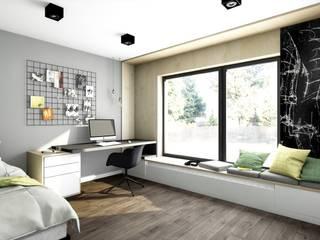 Projekt pokoju dla chłopca, Poznań: styl , w kategorii Pokój dziecięcy zaprojektowany przez Offa Studio,Skandynawski