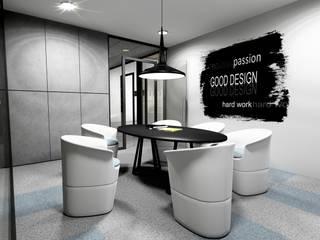 Projekt sali konferencyjnej: styl , w kategorii Domowe biuro i gabinet zaprojektowany przez Offa Studio