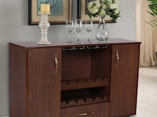 Lalco Interiors Dining roomDressers & sideboards Plywood Brown