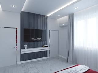 Minimalist bedroom by Татьяна Третьякова - дизайнер интерьера Minimalist