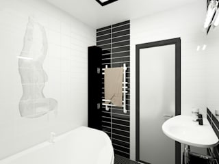 Modern bathroom by Татьяна Третьякова - дизайнер интерьера Modern