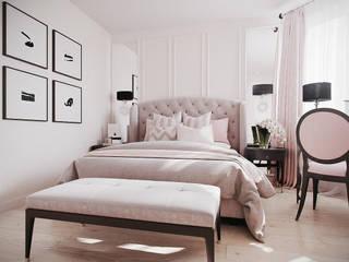 """Спальня """"Foam"""" Спальня в классическом стиле от Татьяна Третьякова - дизайнер интерьера Классический"""
