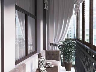 """Балкон """"Open air"""" Балкон и терраса в классическом стиле от Татьяна Третьякова - дизайнер интерьера Классический"""