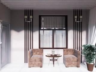 """Балкон """"Open air"""" Балкон и терраса в стиле минимализм от Татьяна Третьякова - дизайнер интерьера Минимализм"""