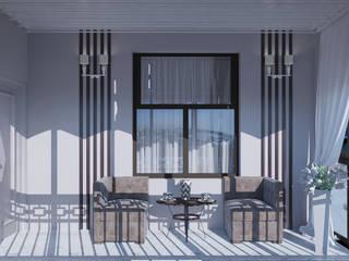 "Балкон ""Open air"" Балкон и терраса в стиле модерн от Татьяна Третьякова - дизайнер интерьера Модерн"