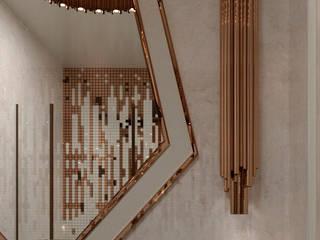Casas de banho  por Татьяна Третьякова - дизайнер интерьера , Clássico
