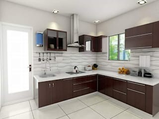 Kitchen:  Kitchen units by unlimteddesigns/bansal designs