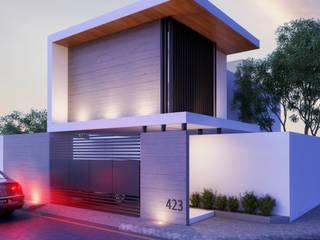 RESIDENCIA ND16: Casas de estilo  por BCInteriorismo