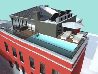 Edificio Multifamiliar, S.B. Messines:   por VM - Arquitetura
