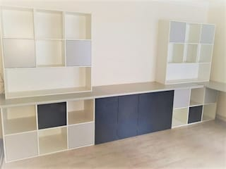 Zingana Kitchens and Cabinetry Chambre d'enfantsRangements Multicolore