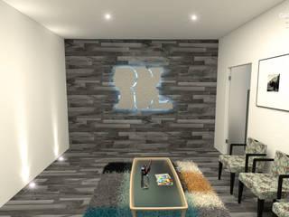 Sala de ingreso: Estudios y oficinas de estilo moderno por GAX Estudio de Arquitectura