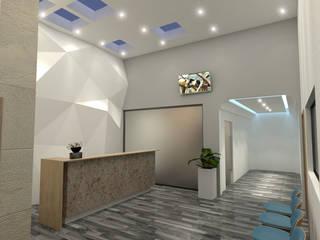 Sala de Espera : Pasillos y recibidores de estilo  por GAX Estudio de Arquitectura