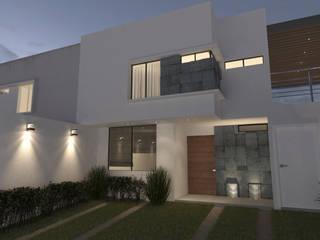 Remo Terralta: Casas de estilo  por GAX Estudio de Arquitectura