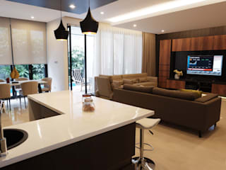 Modern Masculine house Oleh Exxo interior Modern Marmer