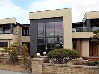 정제된 아름다움을 보여주는 프리미엄 모던전원주택 (경기도 화성시) by 더존하우징 모던