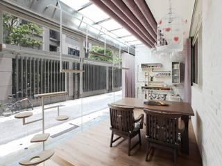 Modern study/office by 築一國際室內裝修有限公司 Modern