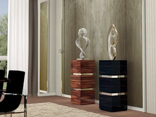 Decordesign Interiores Vestíbulos, pasillos y escalerasAccesorios y decoración Madera Metálico/Plateado