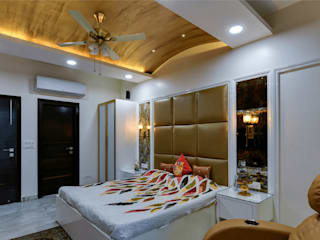 Bedroom:  Bedroom by shritee ashish & associates