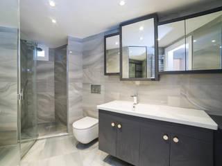 Modern style bathrooms by Sonraki Mimarlık Mühendislik İnş. San. ve Tic. Ltd. Şti. Modern
