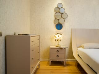 Modern style bedroom by Sonraki Mimarlık Mühendislik İnş. San. ve Tic. Ltd. Şti. Modern