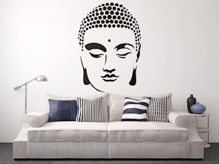 Buddha Stencil Image:   by PaintMyWalls