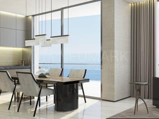 House in Cap Estel, Monaco. Дом в Монако.: Столовые комнаты в . Автор – Марина Анисович, студия NEUMARK