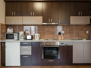 modular kitchen designs bangalore by voglia Minimalist